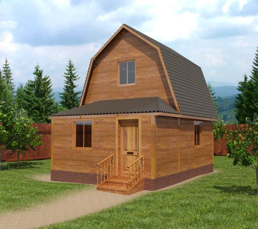 Проект домов из бруса 6х6 фото